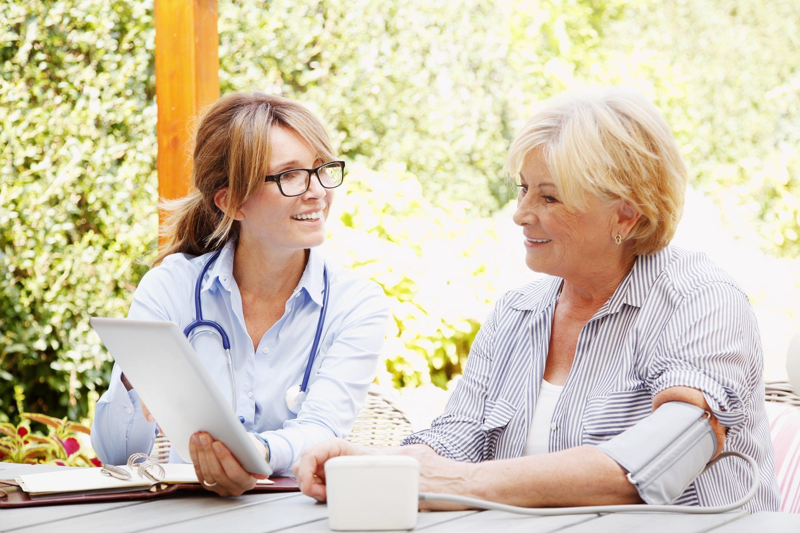 Les cas pour des soins à domicile recommandés